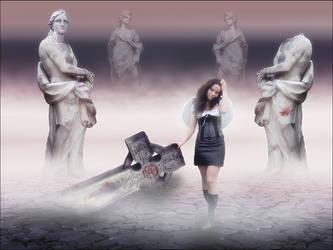 Angel of Fallen Gods by fleurdemai