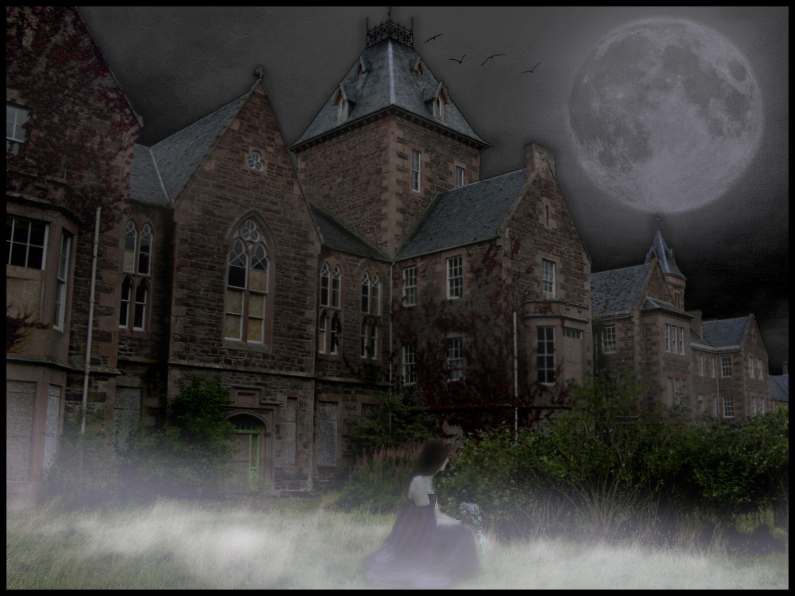 the supernatural and mystic surrounding house of usher Death and decay: the setting of the fall of the house of usher is epitomized by its death and decay the old usher house and the surrounding environs are dull, dark, bleak, shadowy, and.