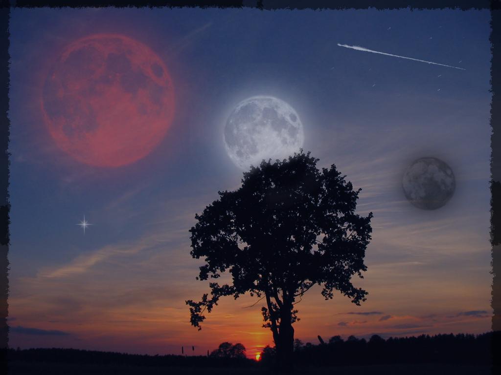 Under three Moons by fleurdemai
