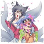 Ahri and Neeko