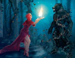 Flames of hope for the nightmare by jiresa