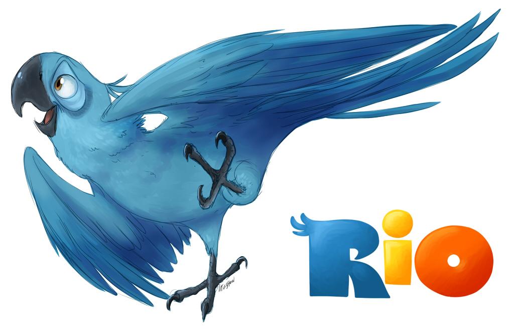 Rio Deviantart: RIO::. Blu By TV-SHOW On DeviantArt