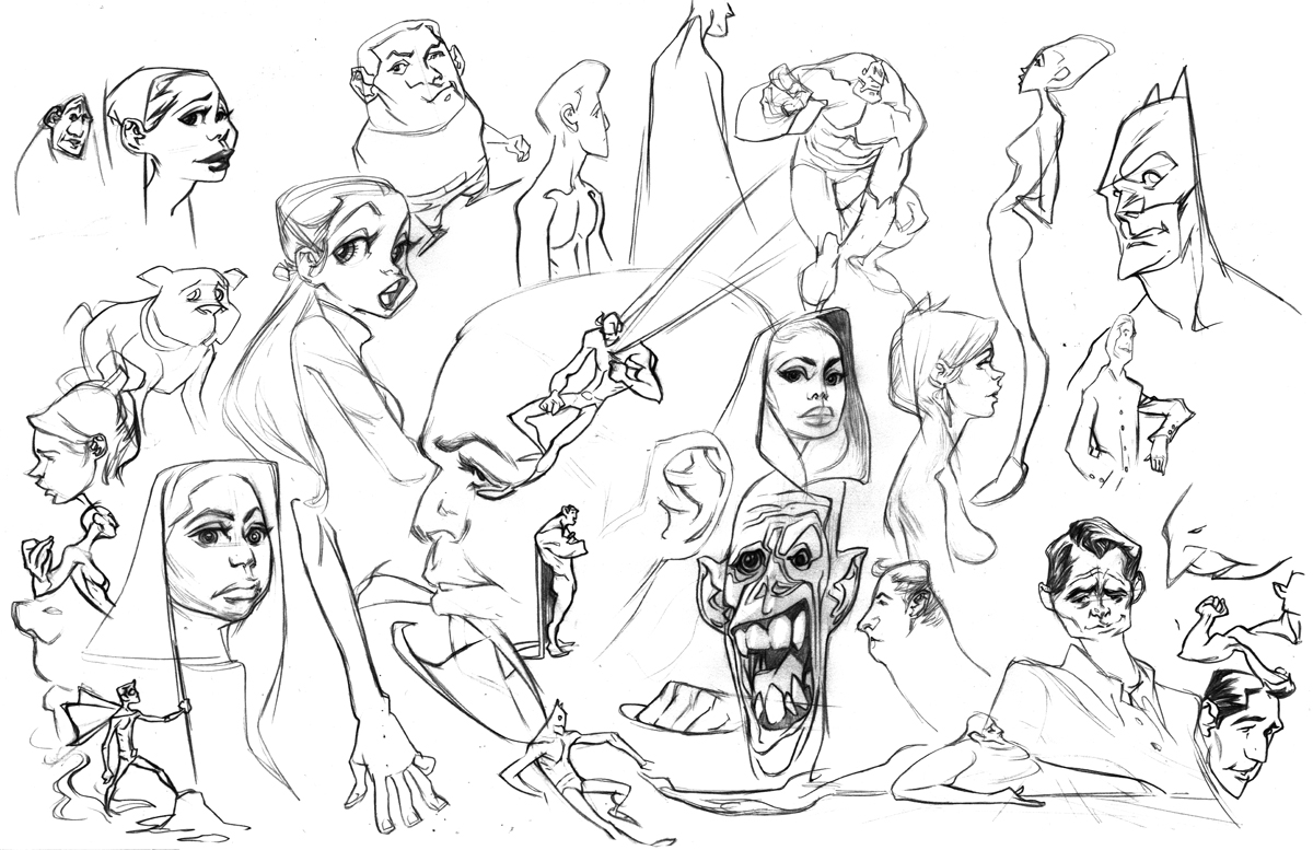 Sketcheeez by bolognafingers