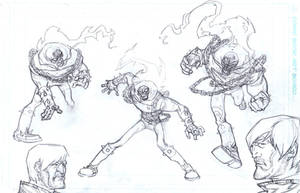 Ghosty guy pencils by bolognafingers