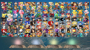 Super Smash Bros. EPIC Roster by ComicMaxDA