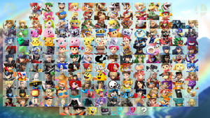Super Smash Bros. Oasis Roster by ComicMaxDA