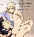 Mitsuki Bakugou's Feet