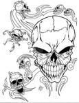 Skulls and tribals