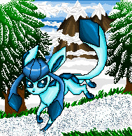 Glaceon by Pumpkin-Cannon