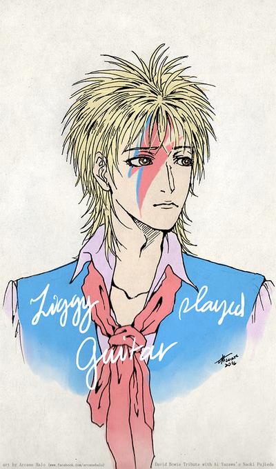 Naoki's Bowie Tribute by arcanehalo