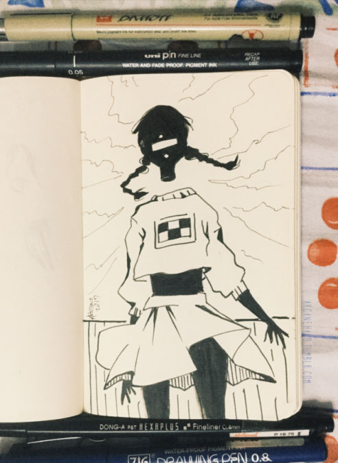 Day 01-02 Madotsuki by arcanehalo