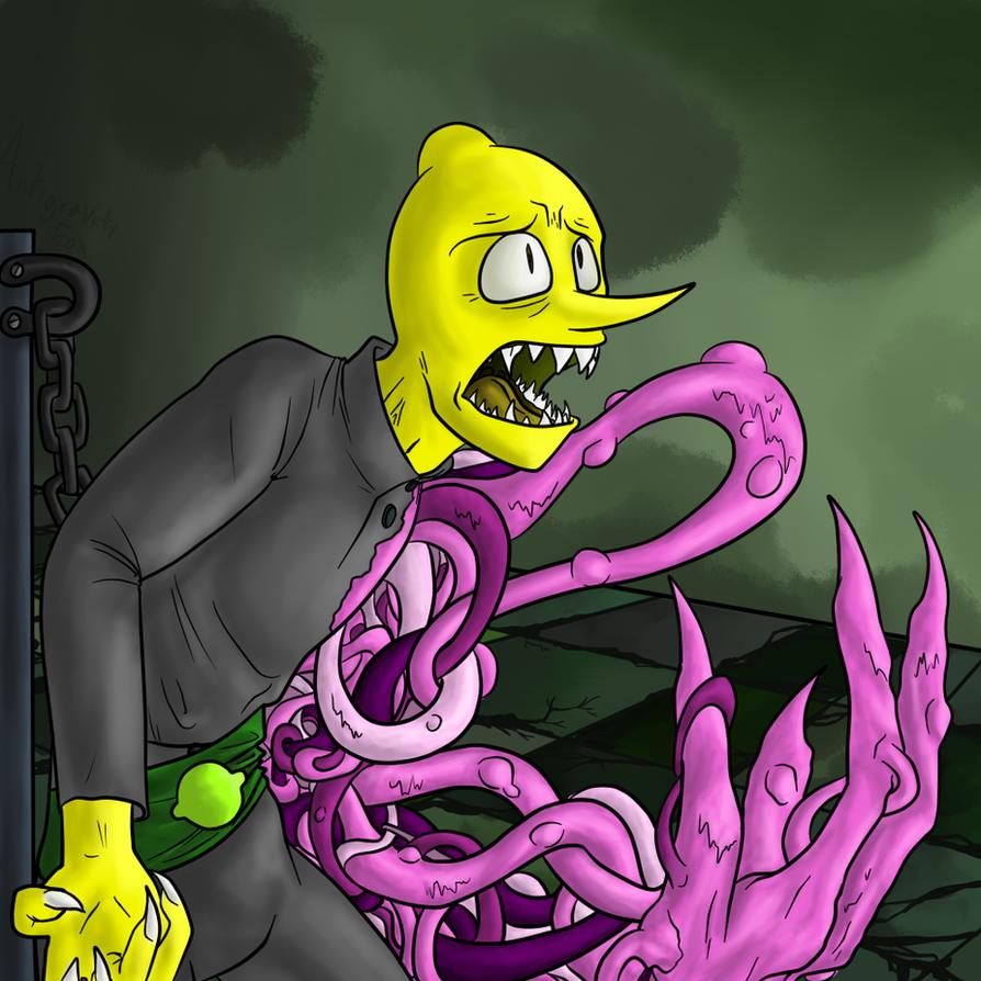 Floor 70, Secret Lab: Lemongrab by AntiGravityFox