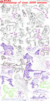 Sketchdump2009Beetches by Deathcomes4u