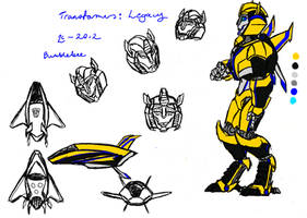 TF-Legacy- Bumblebee by Deathcomes4u