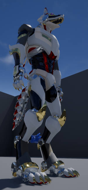 Wolfmech Game Character