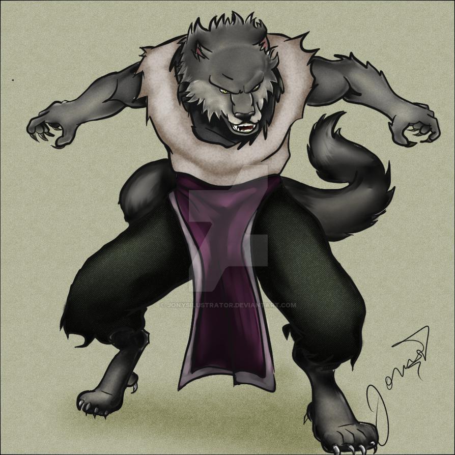 Lobo2  by jonySIlustrator