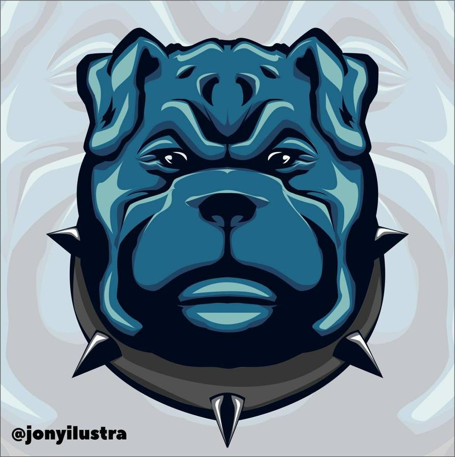 bulldog e-Sport by jonySIlustrator