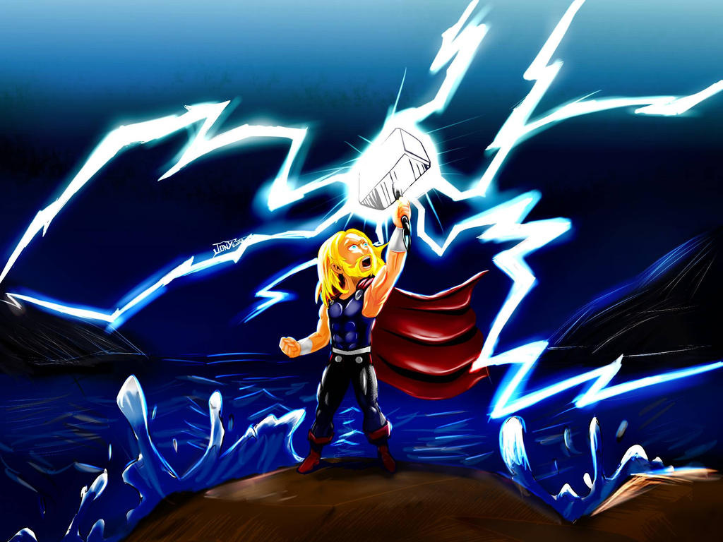 Thor by jonySIlustrator