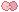 [ Pixel ] pink bow