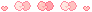 [ Pixel ] cute bow divider - pink