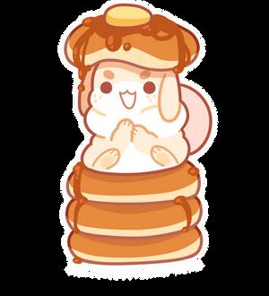 pancake bun