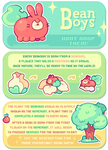 BeanBoys: Species Introduction Guide by plushpon
