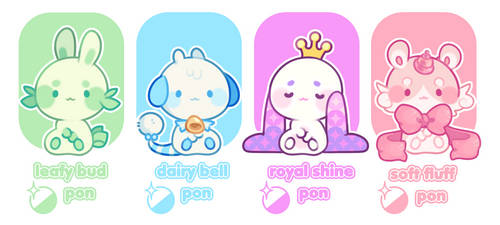 AUCTION Gachapon Adopts: CLOSED by plushpon