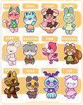 CLOSED - MORE VILLAGER ADOPTS!