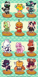 OPEN 1/12 - Villager Adopt Batch - Spooky!