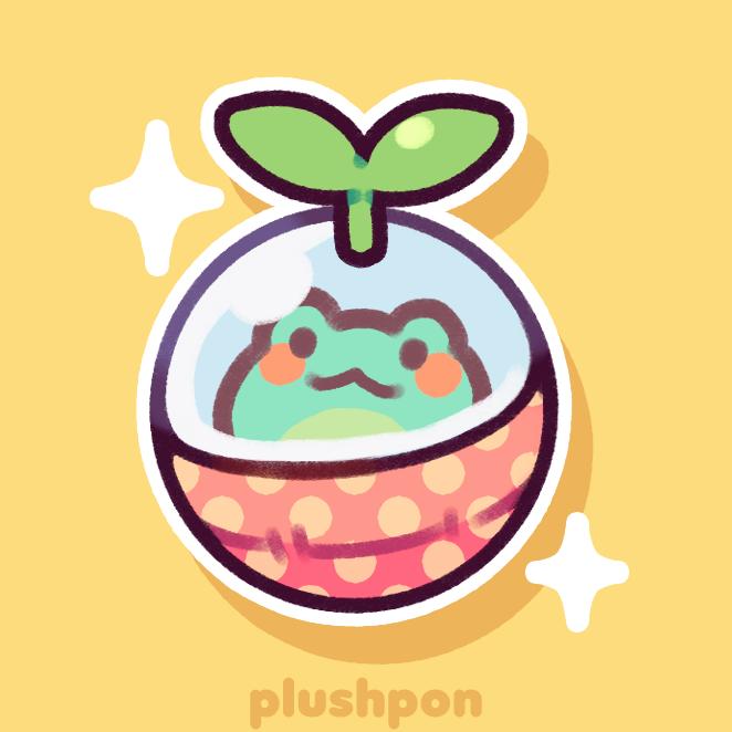 a gachapon friend by plushpon
