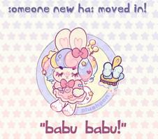 custom paint brush villager: Baby Rabbit! by plushpon