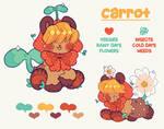 carrot, the little veggie gardener!