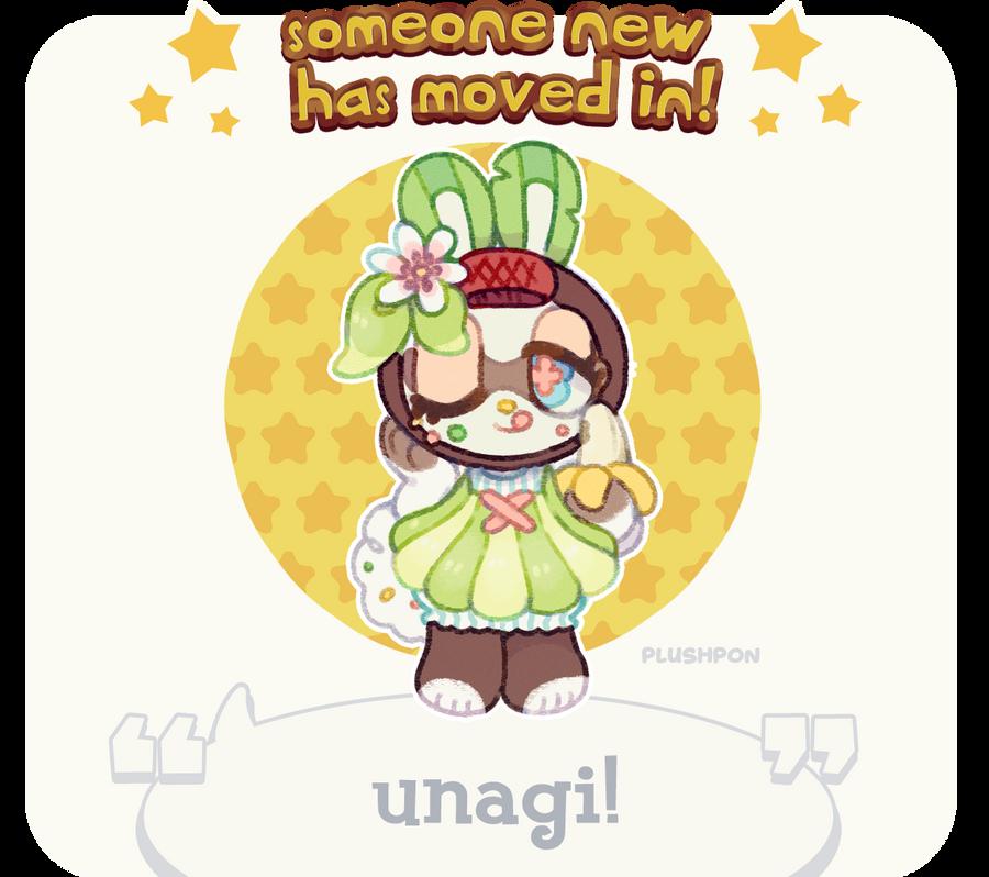 custom paint brush villager: Island Bunny! by plushpon