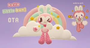 OTA OPEN - hello little bun! by plushpon