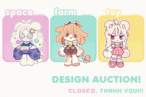 CLOSED Anthro Mascot Adopt Batch Auction by plushpon