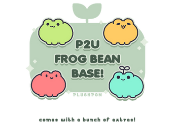 P2U Frog Bean Base! (edit!) by plushpon
