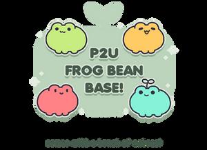 P2U Frog Bean Base! (edit!) by plushpon