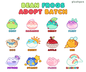 frog bean batch! CLOSED by plushpon