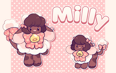 Milly the fluffy cow Fluffolk! by plushpon