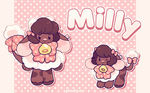 Milly the fluffy cow Fluffolk!