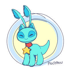 i had a stressful day, here's an aisha by plushpon