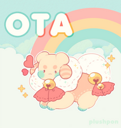 OTA (CLOSED) rehoming old cs mascot! by plushpon