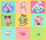 OTA (CLOSED) Cute and Happy Mascot Friends!