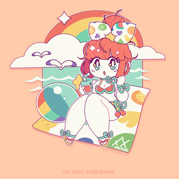 Fruity Cutie! | T-shirt Design by plushpon