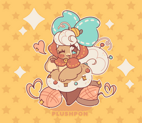 moppet, the pin cushion plush!