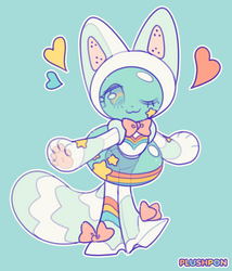 pretty soldier, space cat! by plushpon