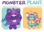 CLOSED | Fluffolk Adopts| Monster Plants