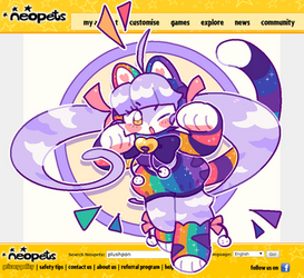 AB extra| Mascot Rainbow Kougra!