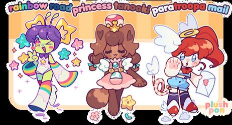 OPEN | Super Mario Mascots!