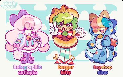 CLOSED   Cute Shop Mascots!